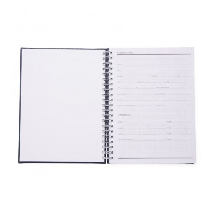 Caderno de Couro Sintético para Brinde