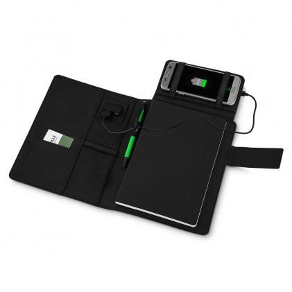 Caderno Power Bank Personalizado 4000mAh